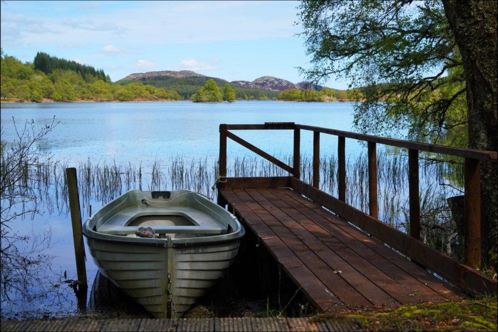 Fishing Boat Inverness Whitebridge Hotel